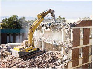 تخریب ساختمانی