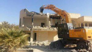 تخریب اجزای ساختمان